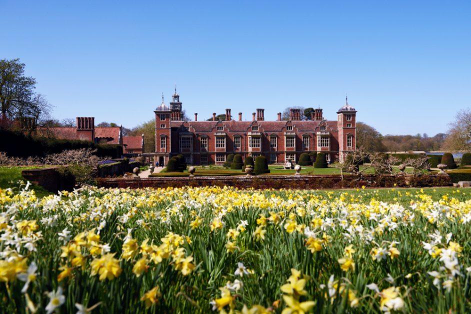 best spring gardens in the UK Blickling Estate, Norfolk