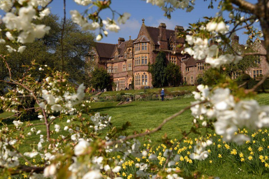 best spring gardens in the UK Knightshayes, Devon