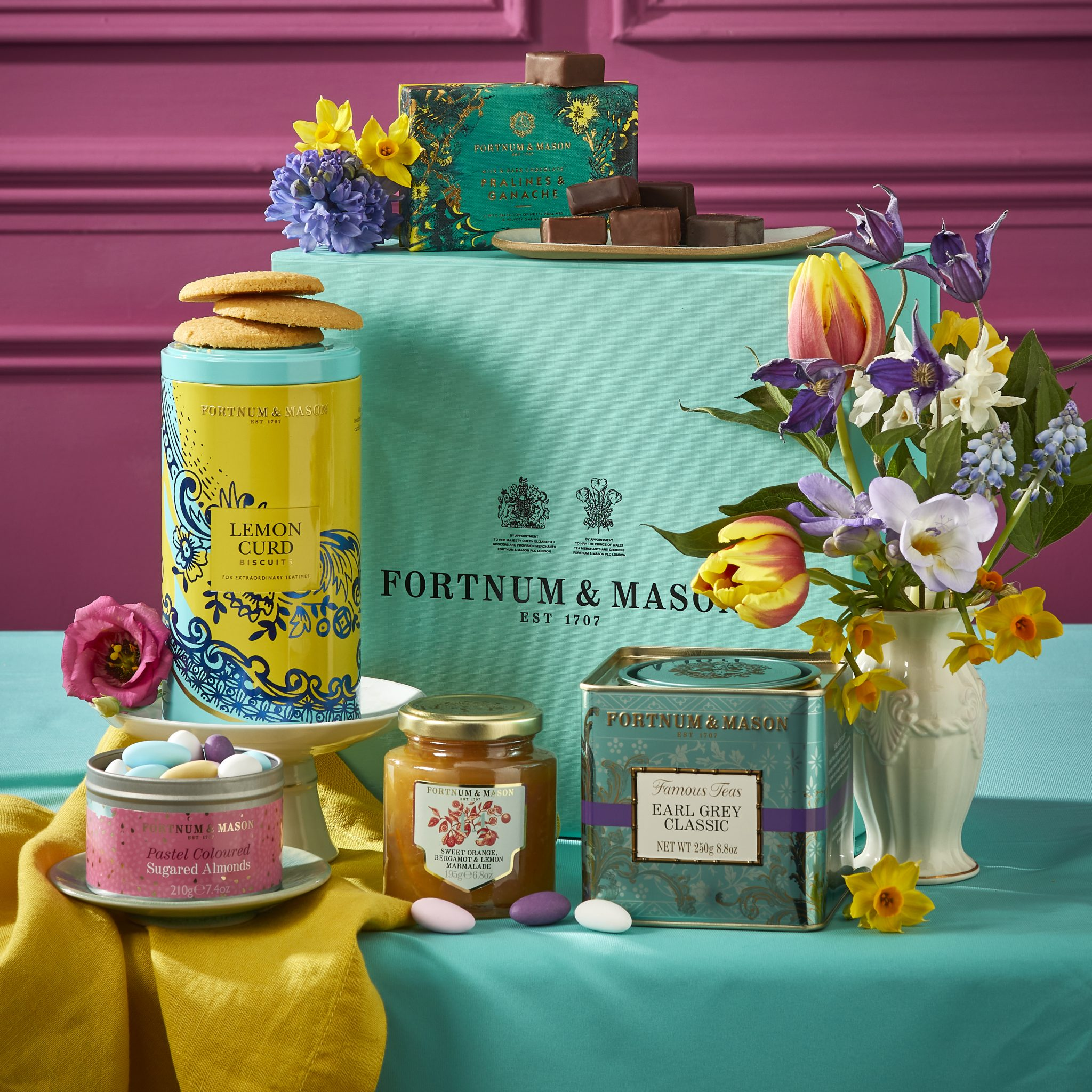 Luxury Easter gifts for adults The Spring Gift Box Fortnum & Mason