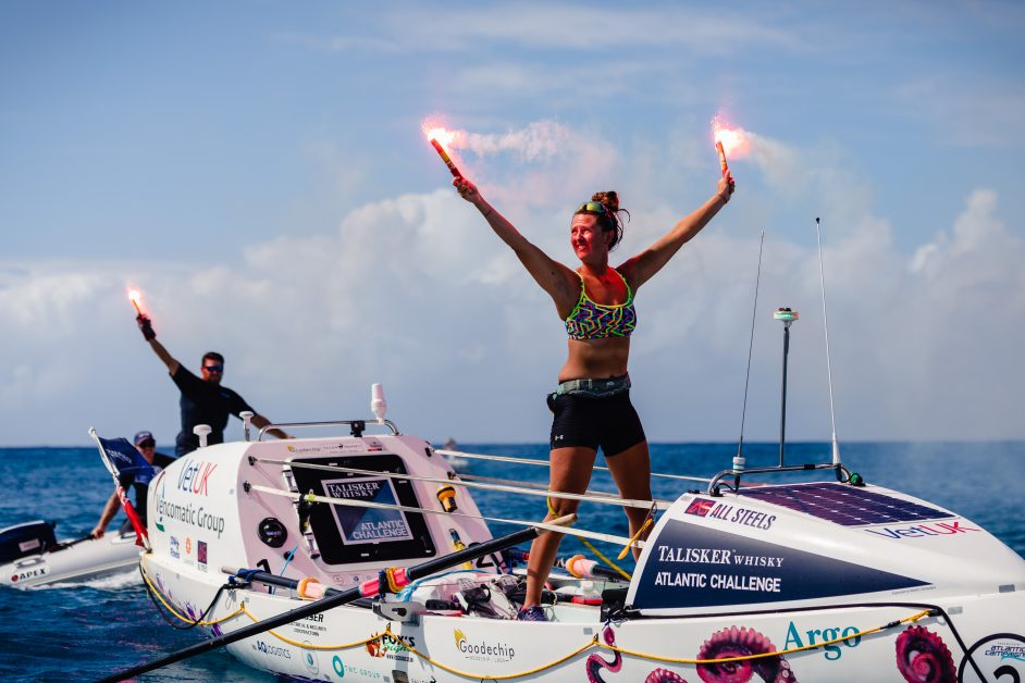 Inspiring British women Women's Day Jasmine Harris, 21, becomes the youngest woman to row any ocean solo