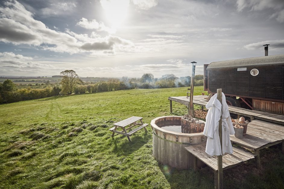 remote staycations UK Galaxy Herefordshire