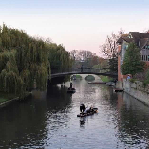 pretty cities UK Cambridge River Cam