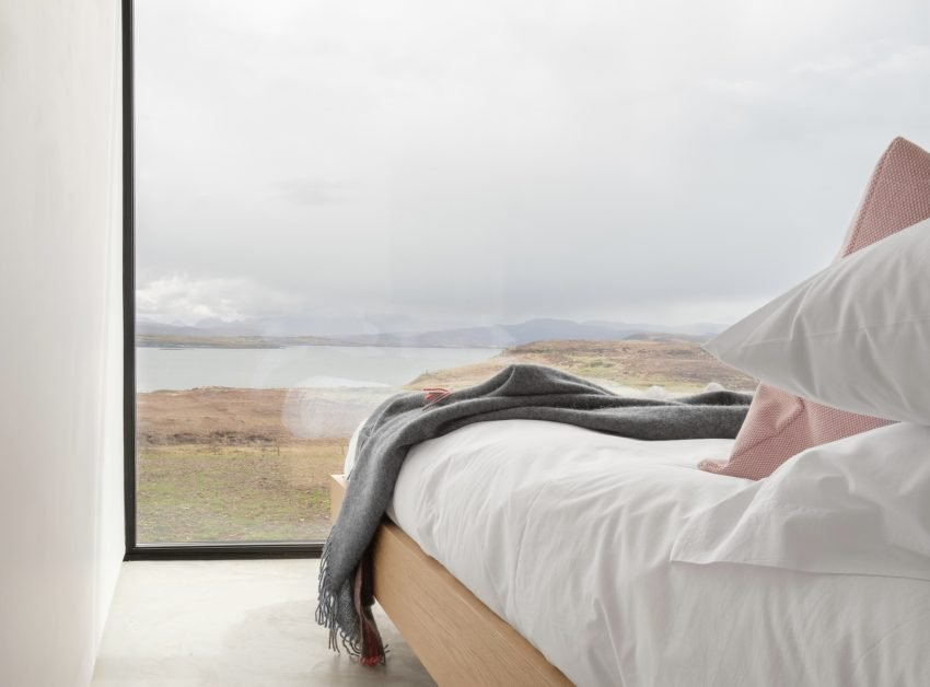 remote staycations UK Sunrise Cabin Isle of Skye