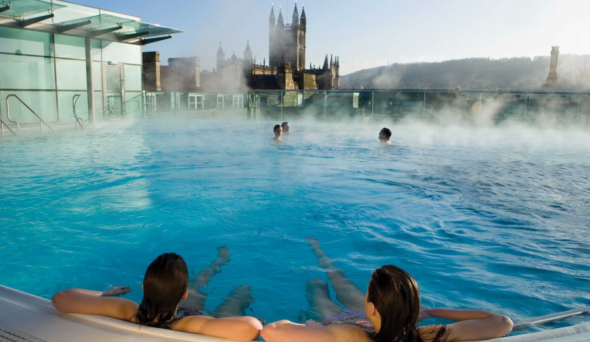 Thermae Bath Spa prettiest cities UK Bath