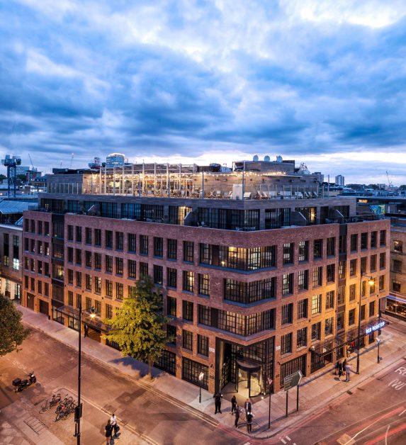 new UK hotels Mondrian London Shoreditch