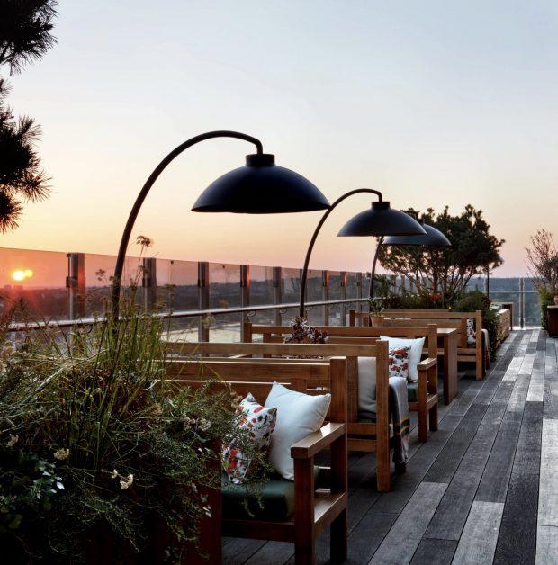 Best London terraces Treehouse Hotel London rooftop