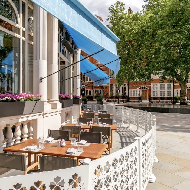The Terrace at Jean-Georges at The Connaught