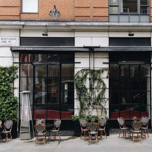 108 Brasserie, Marylebone London terrace
