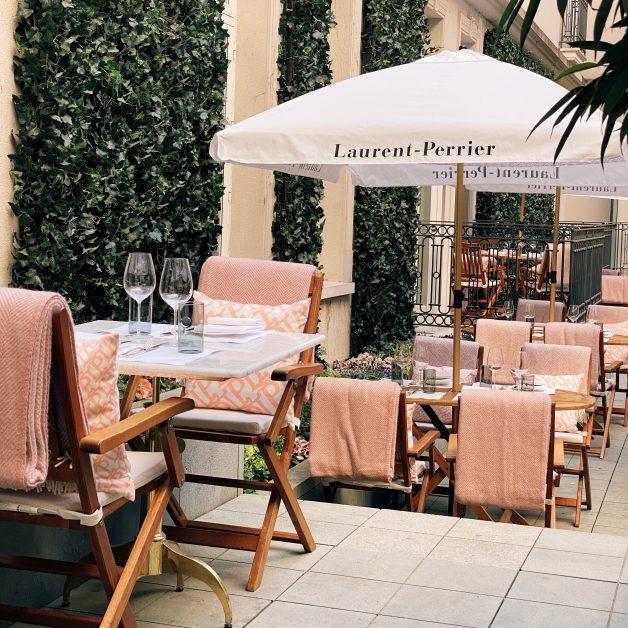 best outdoor terraces London Kerridge's Garden Grill at The Corinthia