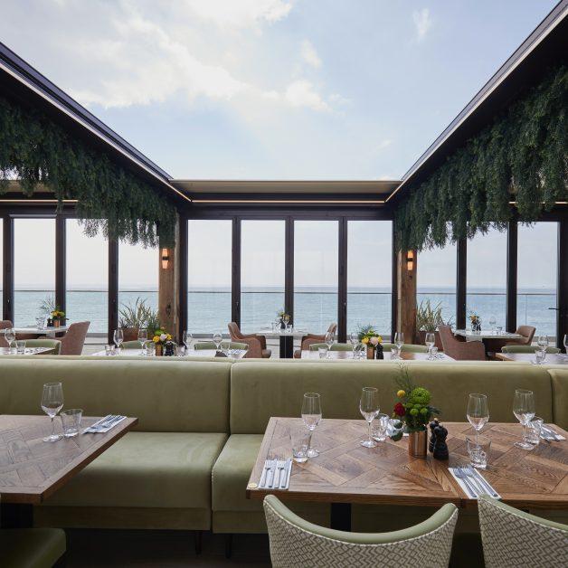 Rockwater rooftop restaurant Hove luxury outdoor dining UK
