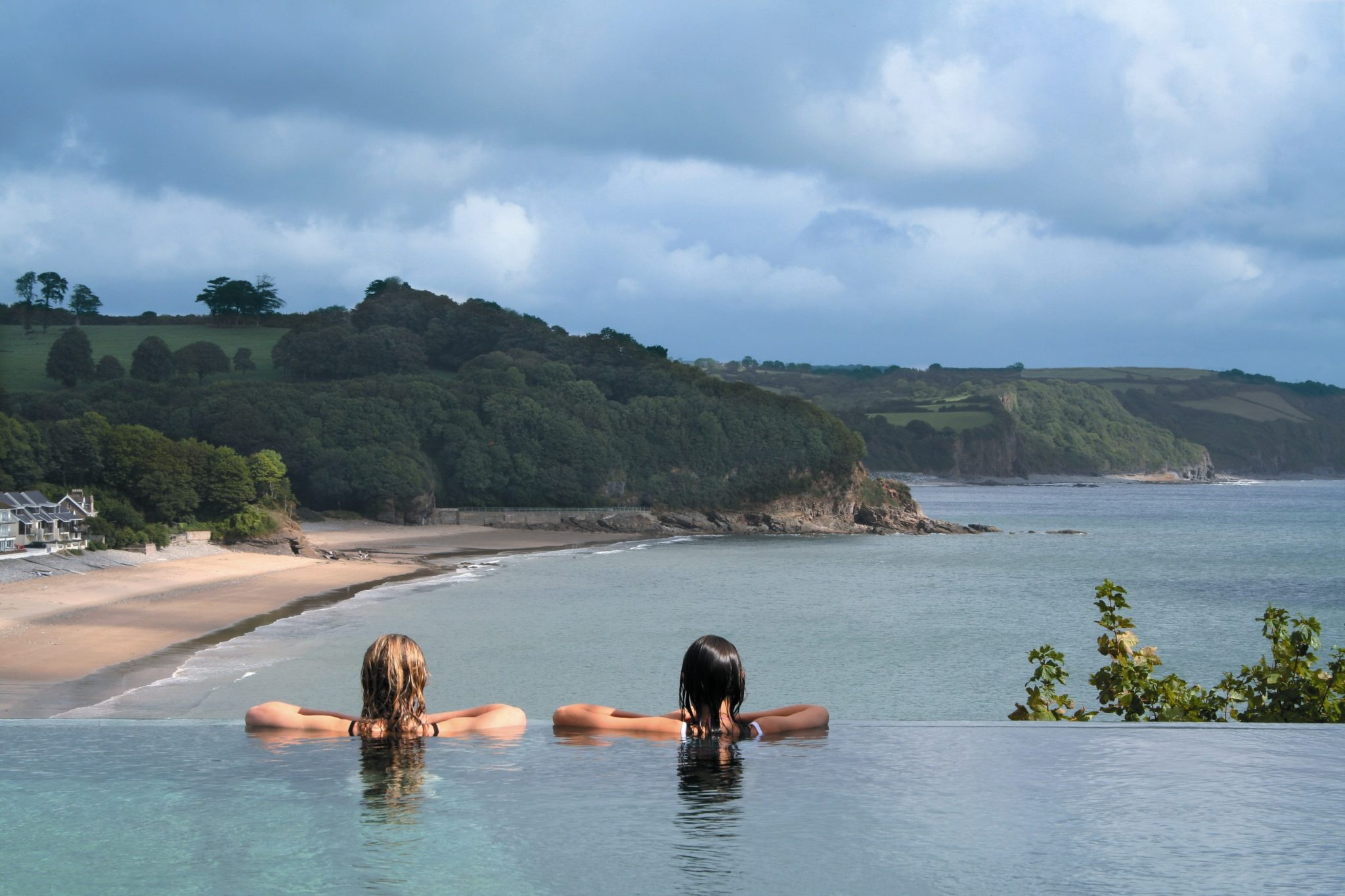 Infinity Edge Vitality Pool St Brides Spa Hotel best UK spas