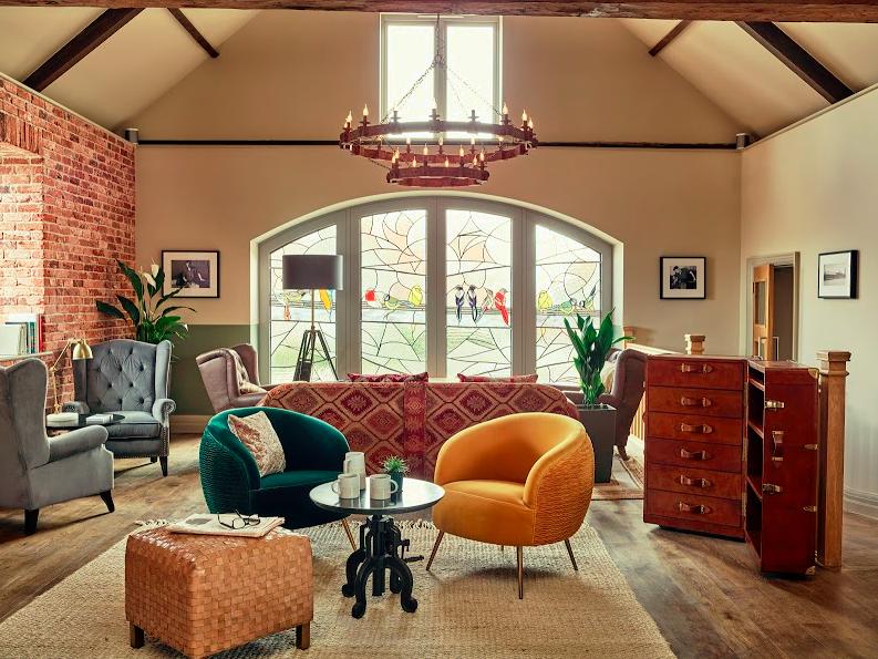 Harper Norfolk lounge