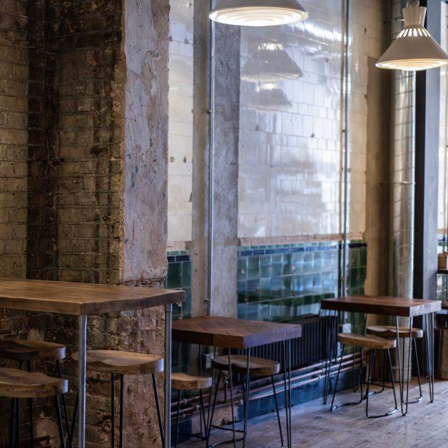 The Cellar wine bar Kings Cross interiors