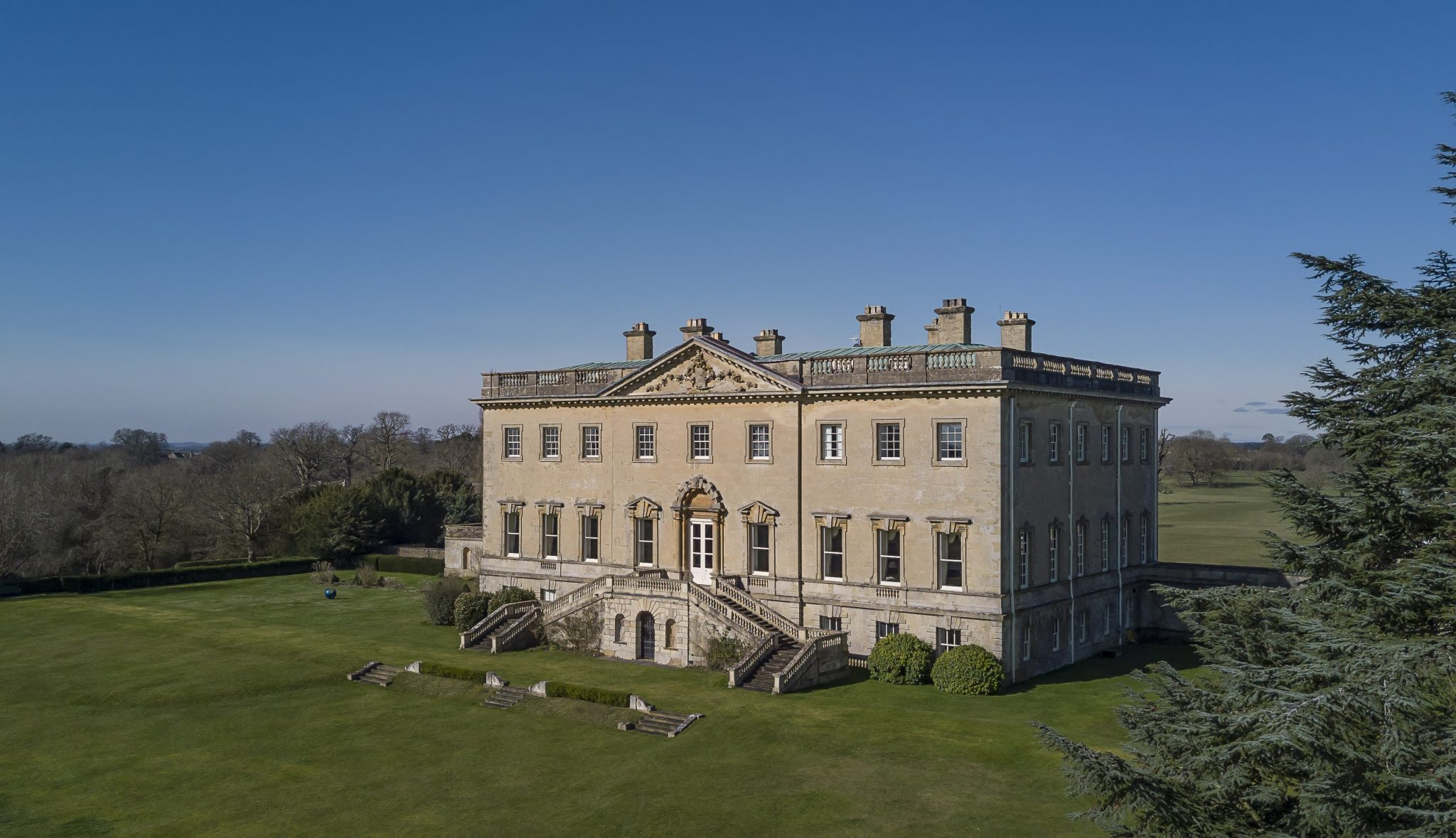 Kirklington Park House in Oxfordshire