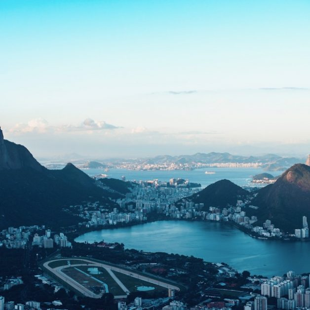 The iconic harbour in Rio de Janeiro, Brazil.