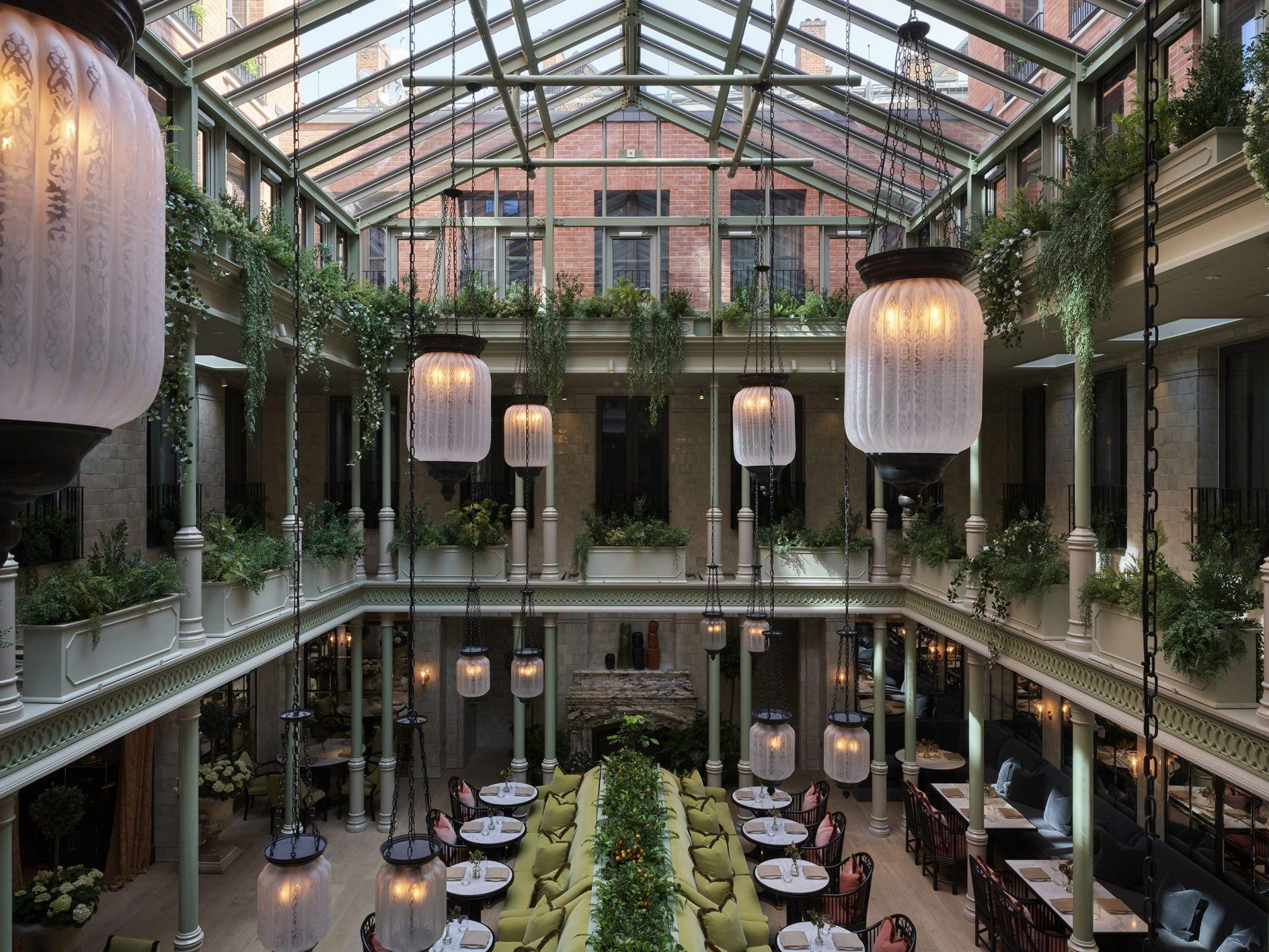 NoMad London Restaurant atrium