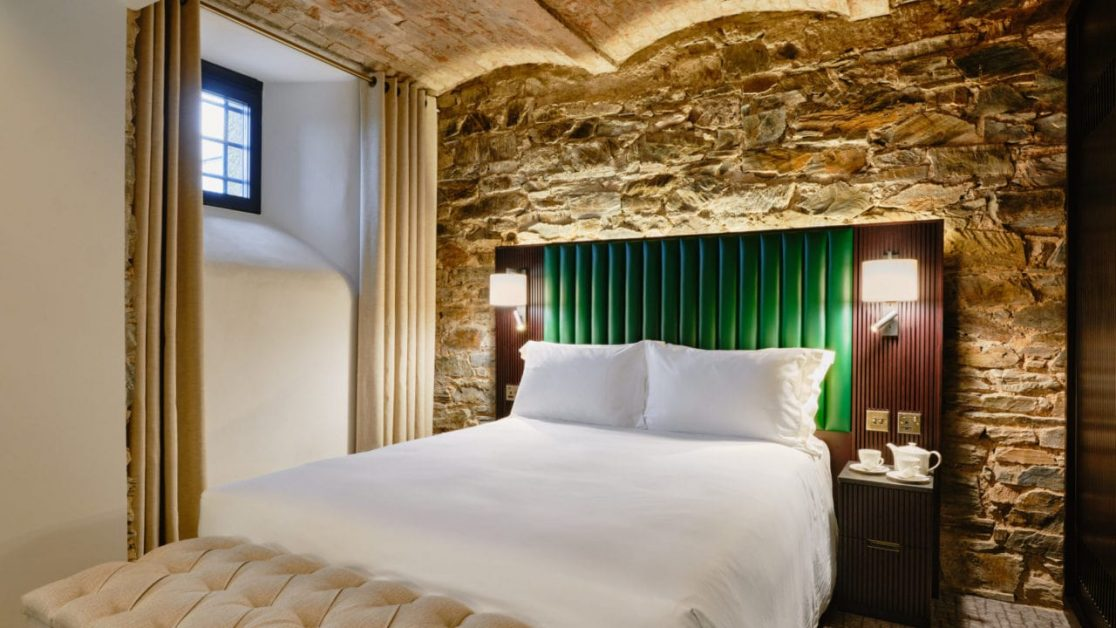 Bodmin Jail Hotel cell room new UK hotel openings 2021
