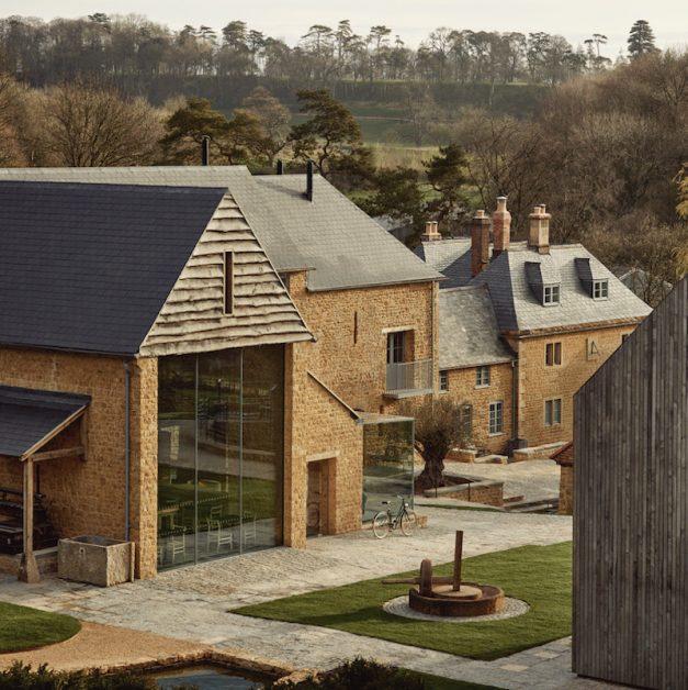 Farmyard at the newt new UK hotel openings 2021