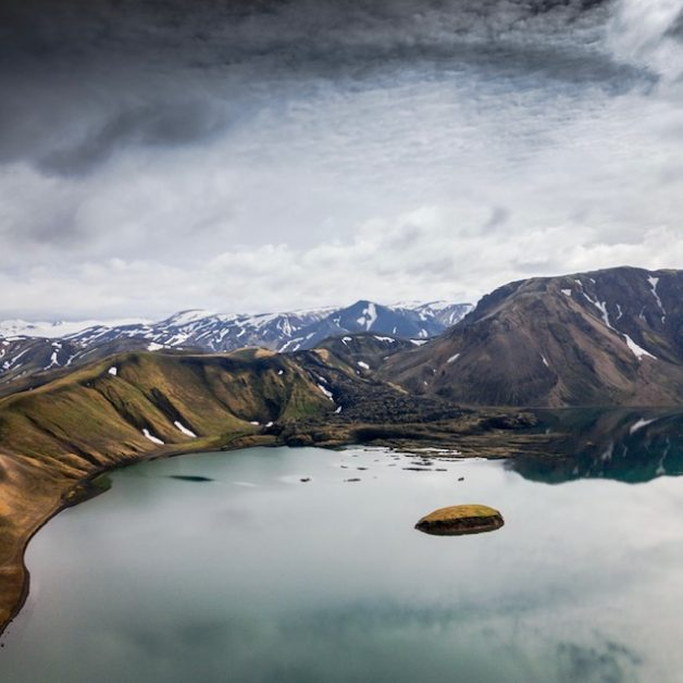 The dramatic scenery of Iceland.