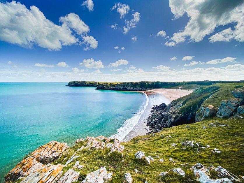 Barafundle Bay on the Pembrokeshire coast underrated UK holiday destinations