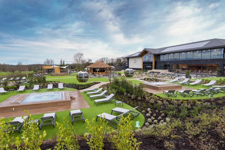new UK spas The Spa at Carden