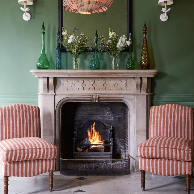 Callow Hall fireplace