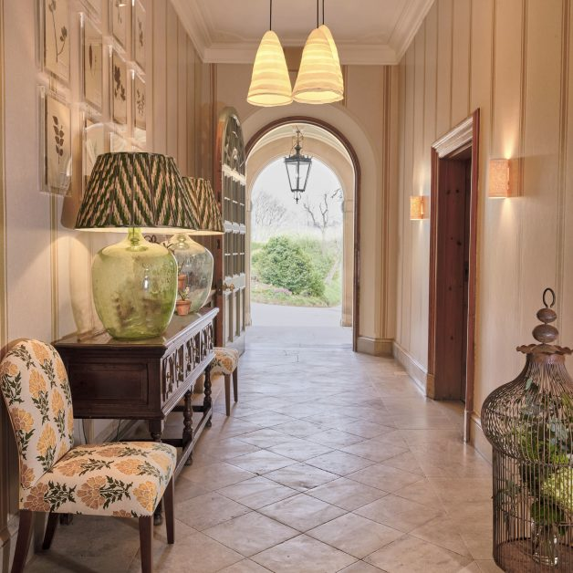 Callow Hall hallway