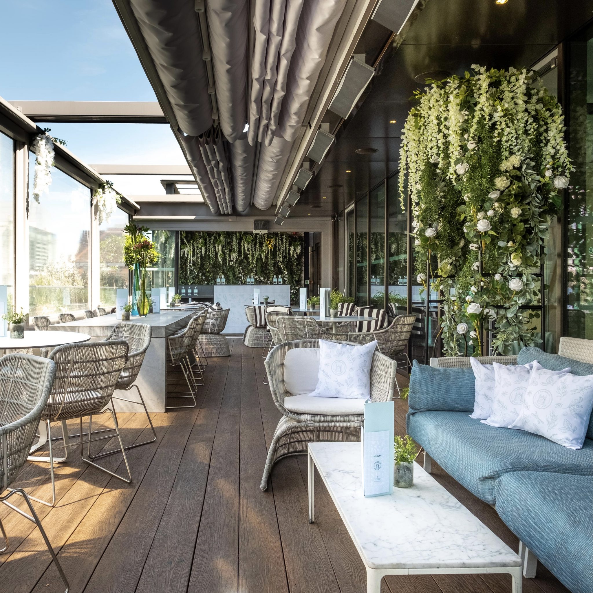 Angler restaurant best rooftop London