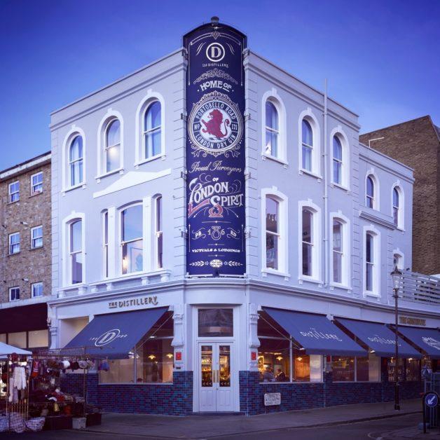 The Distillery London best gin hotels UK