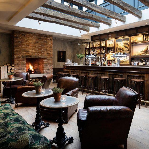 best gin hotels UK The Talbot Malton