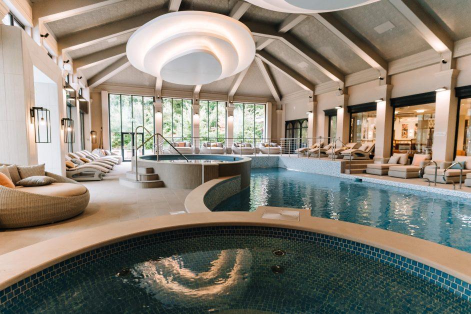 New UK spas Champneys Mottram Hall pool