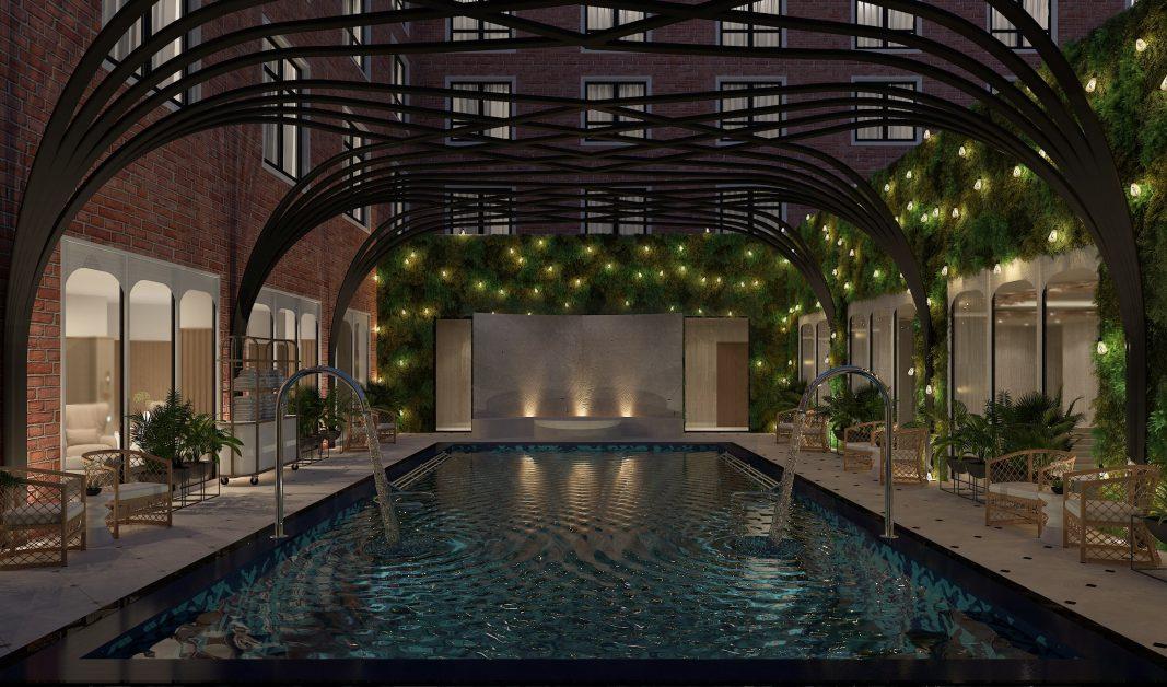 new UK spas Fairmont Windsor Vitality Pool