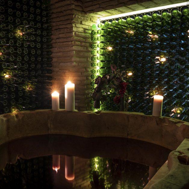 Red wine bath AIRE Ancient Baths London