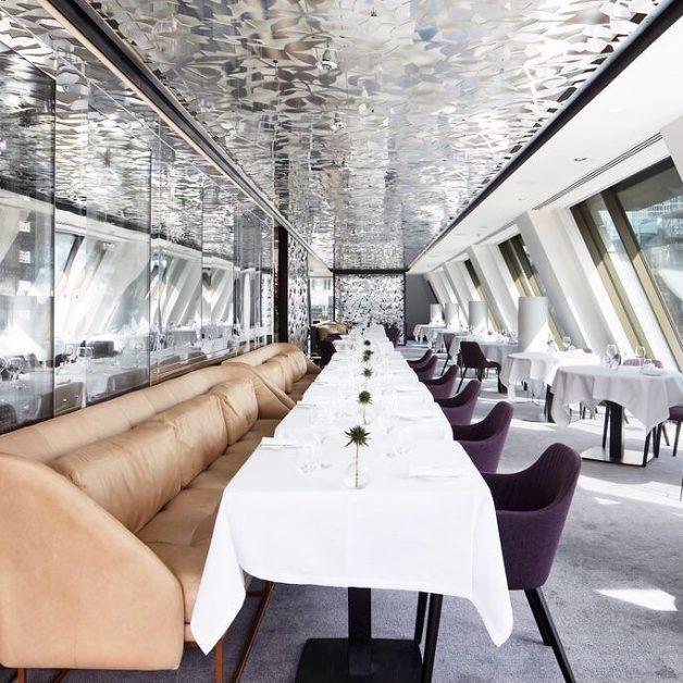 Inside Angler restaurant