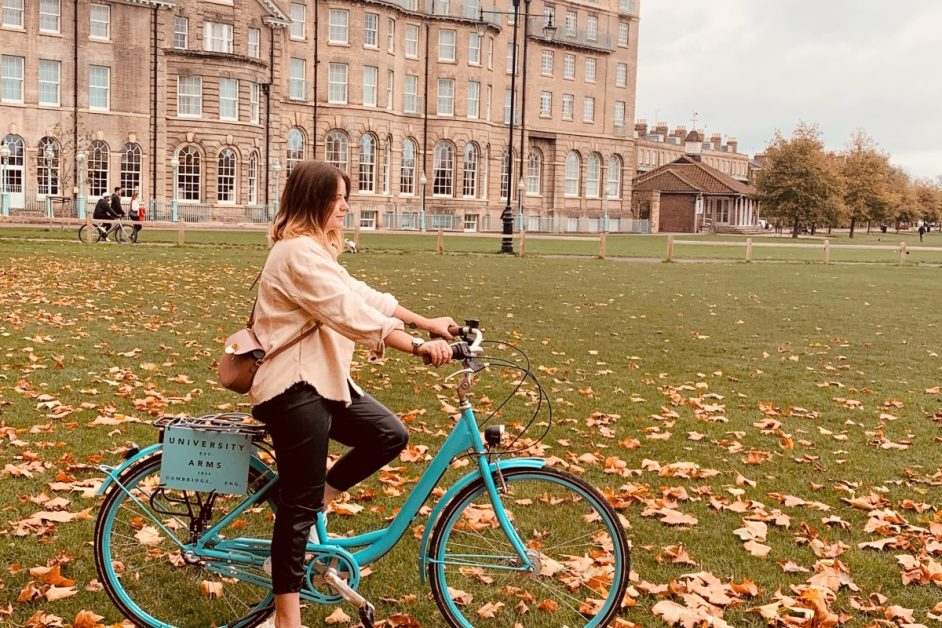 Cambridge University Arms bicycles