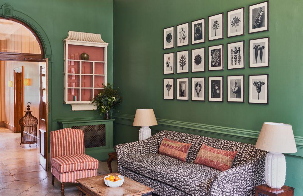 Callow Hall living room