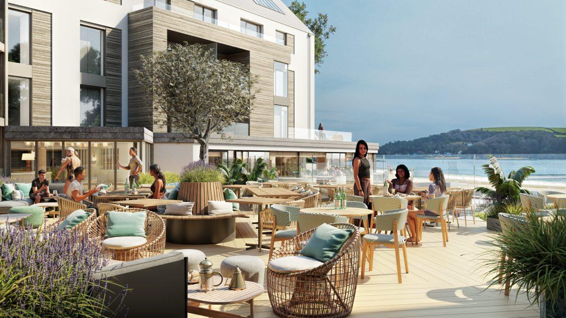 Harbour Beach Club, Upper Terrace
