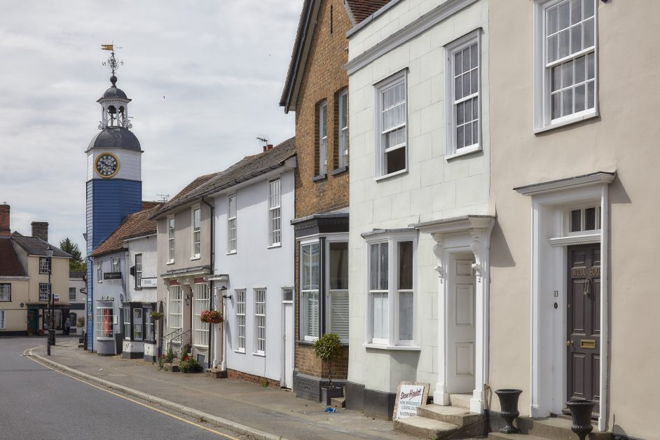 Coggeshall has over 200 listed buildings