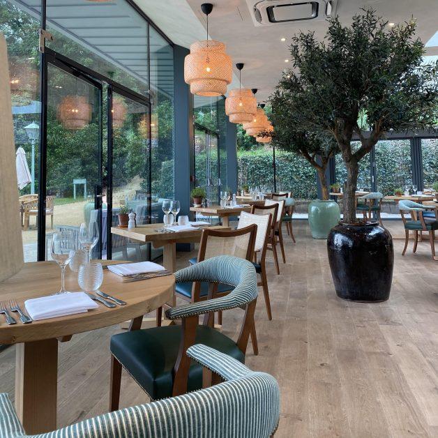 The Garden Room restaurant Callow Hall review