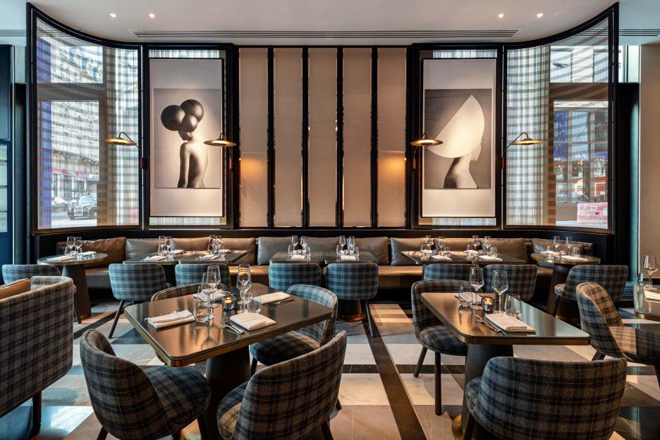 The Londoner Whitcomb's restaurant
